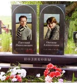 Памятник современный для двоих на могилу ts0183