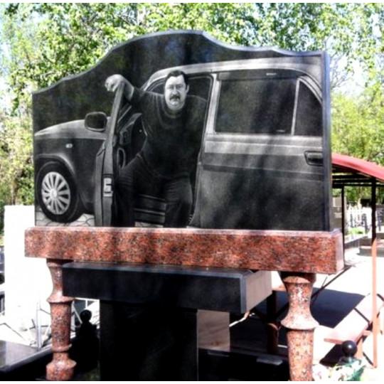 Памятник горизонтальный оригинальный ts0208