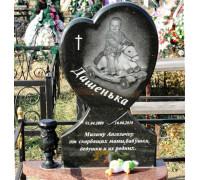 Памятник гранитный Сердце ребенку ts0212