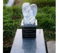Памятник эксклюзивный с ангелом младенцу ts0246