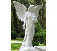 Скульптура ангела для мемориального комплекса ts0258