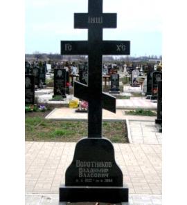 Памятник вертикальный крест ts0266