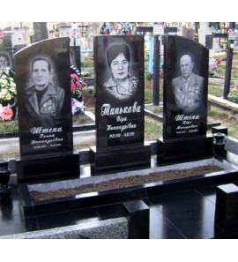 Памятник семейный для троих ts0277
