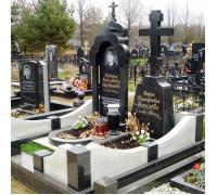 Мемориальный комплекс семейный с крестом ts0279
