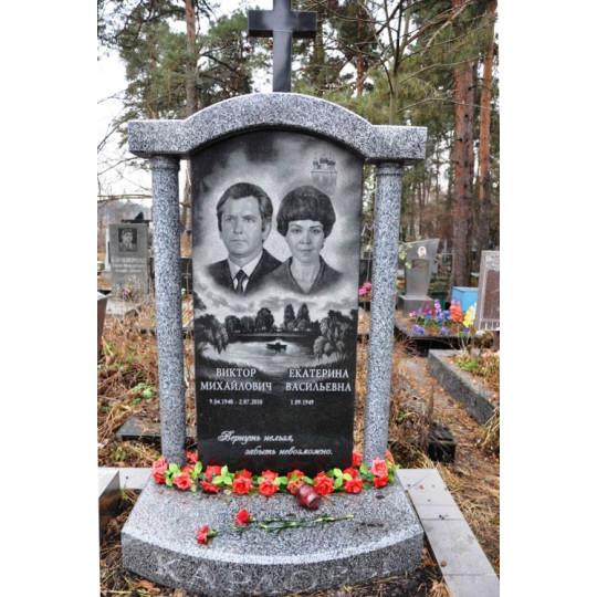 Памятник вертикальный семейный ts0289