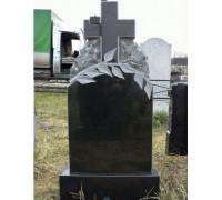 Памятник вертикальный с резным крестом ts0291