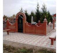 Памятник вертикальный мусульманский ts0294