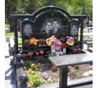 Памятник семейный с аркой ts0297