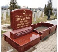 Памятник вертикальный мусульманский ts0317