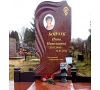 Памятник фигурный из красного гранита ts0324
