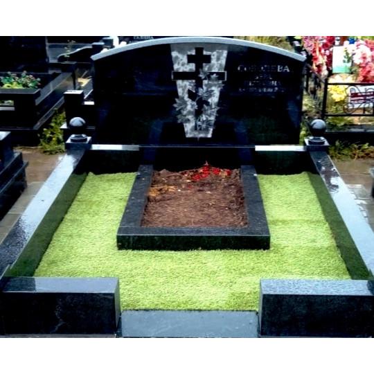 Искусственный газон для кладбища