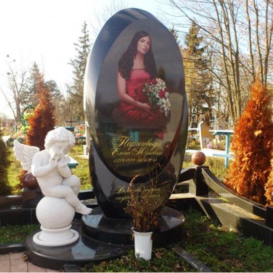 Памятник эксклюзивный комплекс с ангелом ts0164