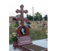 Памятник православный с крестом ts0003