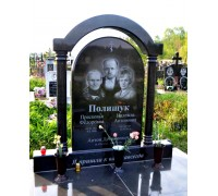 Семейный памятник на могилу в форме Арки