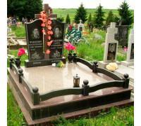 Памятник семейный с крестом ts0078