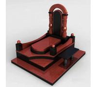 Мемориальный комплекс на могилу Арка в 3D формате ts0527