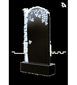 Памятник вертикальный с березой ts0327