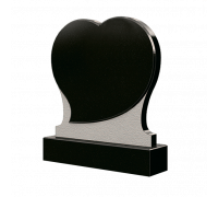Памятник в форме Cердца из гранита ts0330