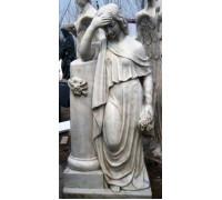 Статуя девушки - скорбящий Ангел ts0431