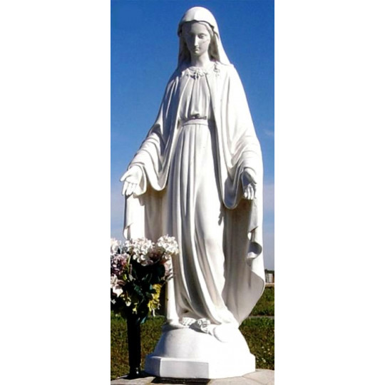 Скульптура молящейся матери на могилу ts0455