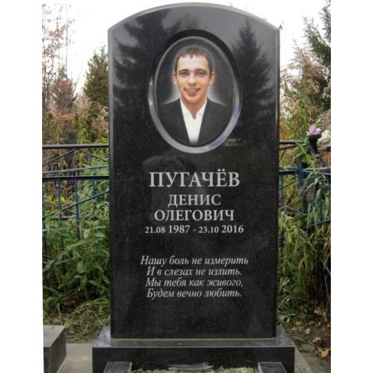 Овальная фотокерамика для памятника на могилу