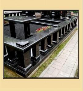 Гранитные поребрики на могилу в СПб