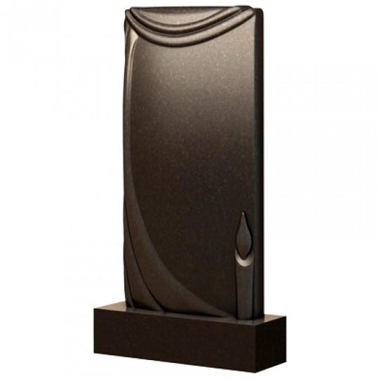 Памятник с плащаницей и свечой ts0492