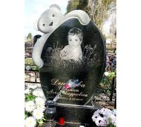 Памятник для младенца с мишкой ts0335