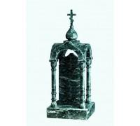 Памятник Часовня из зеленого гранита ts0588