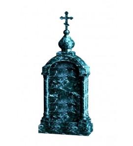 Зеленый памятник на могилу Часовня ts0590
