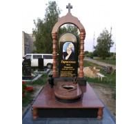 Памятник с Аркой на могилу для женщины