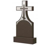 Вертикальный памятник на могилу с Крестом ts0470