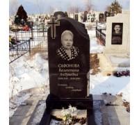 Ритуальный стандартный памятник на могилу с крестом ts0547