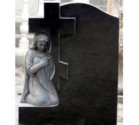 Памятник Молящийся Ангел с Крестом ts0449