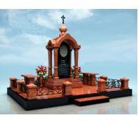 Мемориальный комплекс на могилу Часовня в 3D формате ts0515