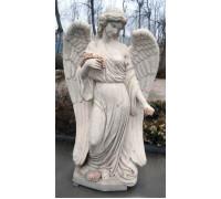 Статуя девушки-Ангела с венком в руках ts0423