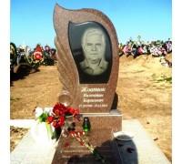 Памятник Пламя из красного гранита ts0221