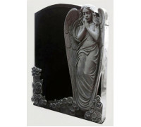 Памятник Молящийся Ангел с розами ts0447