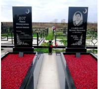 Памятник семейный мусульманский ts0263