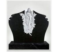 Надгробие из гранита со статуэткой Скорбящей матери