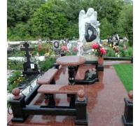 Памятник эксклюзивный комплекс с ангелом ts0127