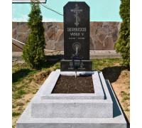 Недорогой вертикальный памятник ts0340