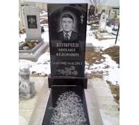 Одинарный стандартный памятник на кладбище ts0558