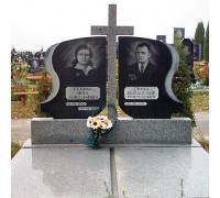 Мемориальный комплекс семейный с резным крестом ts0255