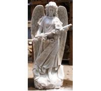 Статуя девушки Ангела со свирелью ts0428