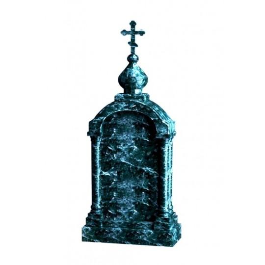 Зеленый памятник на могилу Часовня