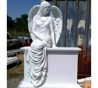 Памятник со скульптурой Ангела ts0071