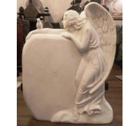 Памятник Ангел с голубем на руке ts0437