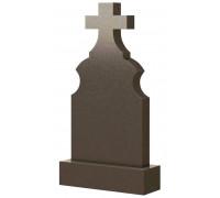 Крест гранитный на кладбище ts0477