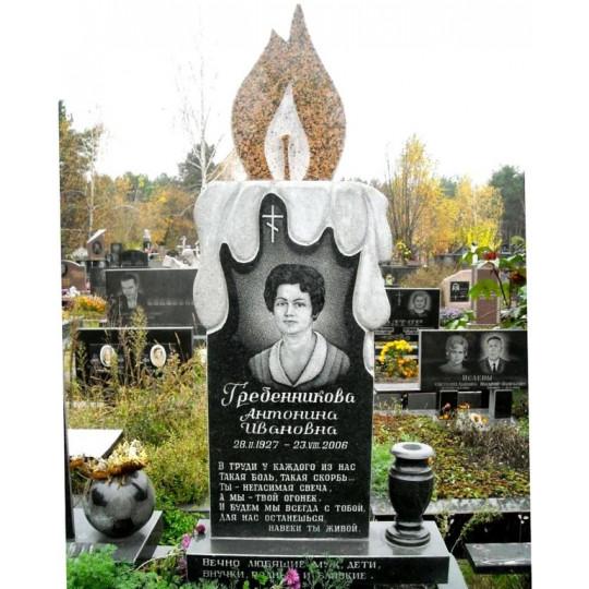 Памятник из гранита в форме Свечи ts0370
